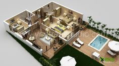 virtual house plans. visualize your dreams with floor design, interactive plan, virtual plan and sections plan. we can deliver it landscape wall cut view as house plans c