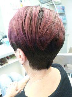 Short cut Hair Painting  www.friseur-siedesbeck.de