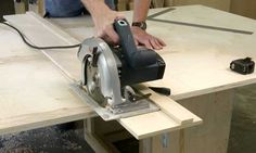 Cutting Plywood Without a Table Saw - Popular Woodworking Magazine