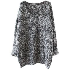 Two-Colored Knitted Pullover ($26) ❤ liked on Polyvore featuring tops, sweaters, shirts, jumpers, pullover shirt, pullover tops, sweater pullover, pullover sweater and shirts & tops