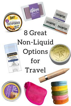 Substitute your toiletry bag with non-liquid options for travel. Avoid leaks & spills and produce less plastic waste than similar liquid options. Packing Checklist, Packing Tips For Travel, Travel Essentials, Carry On Packing, Vacation Checklist, Travel Necessities, Europe Packing, Traveling Europe, Winter Packing
