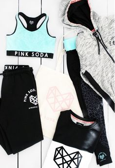 Pink Soda workout gear