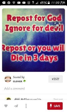 I wont die