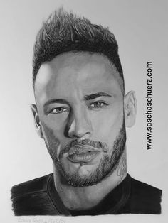 Brazil realistic Pencil and Charcoal Portrait by Sascha Schürz Realistic Drawings, Art Drawings Sketches, Animal Drawings, Easy Drawings, Pencil Drawings, Neymar Jr, Drawing Hats, Batman Drawing, Drawing Tutorials For Beginners