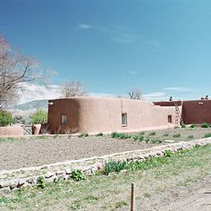 o'keeffe's garden at the abiquiu house