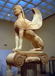 Delphes — Le Sphinx