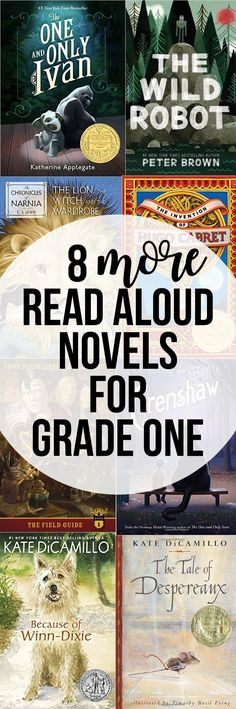 8 Great Read Aloud Novels for Grade One