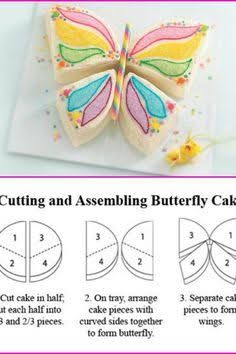 Image result for butterfly cake easy