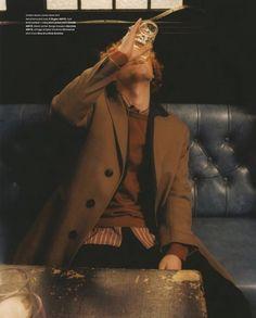 shot by Sam Rock for Arena Homme + A Saucerful Of Secrets, Art Commerce, Coat, Seasons, Jackets, The Secret, Photographers, Artists, Fashion