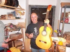 Mariano Conde  Guitarrero Artesano de Madrid Fundación Guitarra Flamenca. www.fundacionguitarraflamenca.com