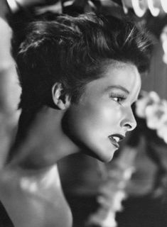 Katharine Hepburn photographed by Ernest Bachrach, 1937