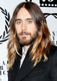 Jared Leto at the NY Film Critics Awards. Grooming by Losi.