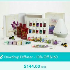 Young Living Premium Kit with Diffuser An extraordinary value that offers a comprehensive introduction to the power of essential oils, the Premium Starter Kit is the perfect option for those who are serious about transforming their lives. Contents of kit included in pictures. Other