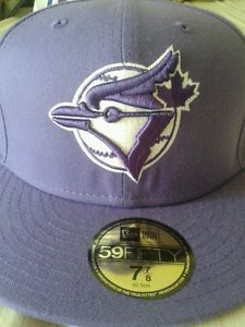 NEW Era Toronto Blue Jays Fitted 7 7 8 59FIFTY Purple - SOLD. BE8480 · hats  ... e3de5aee5823