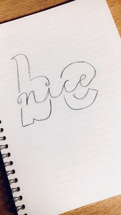 Be nice – Handlettering The post Be nice – Handlettering appeared first on Woman Casual - Drawing Ideas Pencil Art Drawings, Doodle Drawings, Easy Drawings, Doodle Art, Drawing Sketches, Drawing Ideas, Drawing Drawing, Woman Drawing, Tattoo Drawings