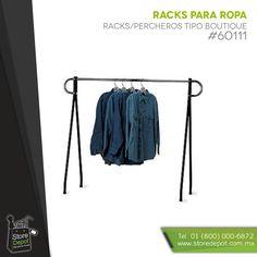 Las mejores opciones de exhibición de ropa y artículos de moda http://www.storedepot.com.mx/
