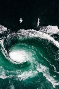 Saltstraumen Maelstrom, Norway by Thomas Kleine