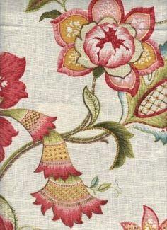 Libby Garden - www.BeautifulFabric.com - upholstery/drapery fabric - decorator/designer fabric