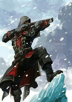 Shay Patrick Cormac from Assassin's Creed: Rogue. Assassins Creed Rogue, Assasin Creed Unity, Character Art, Character Inspiration, Character Design, Assassin's Creed 3, Assasins Cred, Connor Kenway, Edwards Kenway