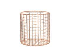 Copper Wire Cutlery Basket