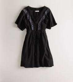 flutter sleeve boho dress $49.50