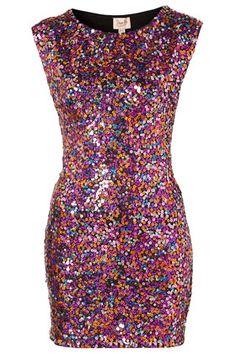 Sequin Dress #style #dress #sparkle