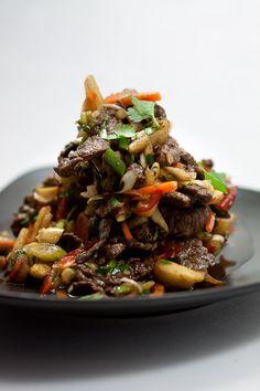 Vietnamesischer Rindfleischsalat mit Birnen | HighFoodality - Rezepte mit Bild