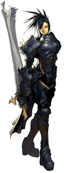 Female Black Knight