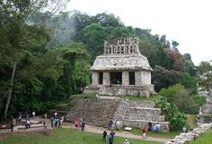 Palenque is a medium-sized site, much smaller than such huge sites as Tikal, Chichen Itza, or Copán, but it contains some of the finest architecture, sculpture, roof comb and bas-relief carvings that the Mayas produced