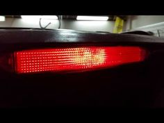 2003-2008 Honda Pilot High Mount Third Brake Light - Testing After Changing Light Bulb - YouTube