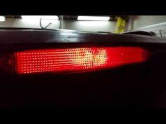 2003-2008 Honda Pilot High Mount Third Brake Light - Testing After Changing Light Bulb - YouTube