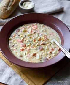 Easy Weeknight Soup: Hearty Salmon Chowder