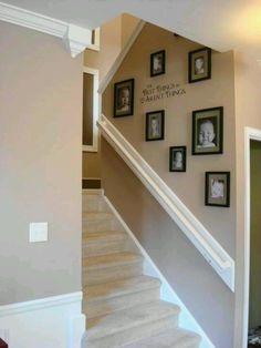 Neat stairway idea