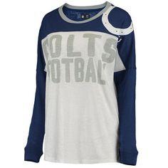 Women's Indianapolis Colts Royal Ralph Long Sleeve T-Shirt