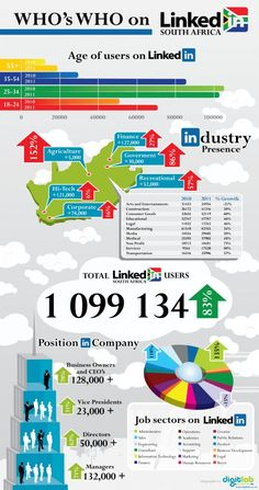 Who's Who on Linkedin in South Africa | Snaglur