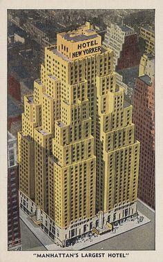 #NYC Hotel New Yorker - New York, New York