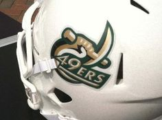 UNCC unveils new football helmet