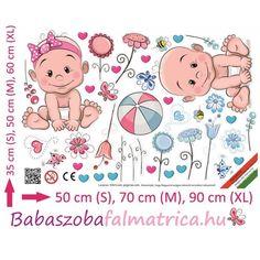 Ikrek babaszoba falmatrica #falmatrica #babaszoba #gyerekszoba #faldekoráció #virág #kisfiú #kislány Peanuts Comics, Art, Art Background, Kunst, Gcse Art