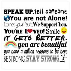 Items similar to Home Decor Typography Print - Speak up, Stay Strong motivational, anti bullying 8 x 10 Wall Poster on Etsy Bullying Posters, Bullying Quotes, Stop Bullying, Bullying Stories, Inspirational Posters, Motivational Posters, You Are Strong, Stay Strong, Anti Bully Quotes