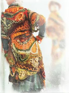 Freeform crochet By MizzieMorawez on Flickr