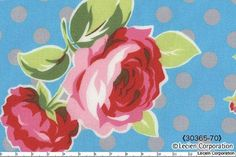 """Flower Sugar"" fabric by Lecien"