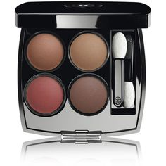 CHANEL LES 4 OMBRES - LE ROUGE COLLECTION N°1Multi-Effect Quadra... (515 NOK) ❤ liked on Polyvore featuring beauty products, makeup, eye makeup, eyeshadow, chanel eyeshadow, palette eyeshadow, chanel eye shadow, chanel and chanel eye makeup