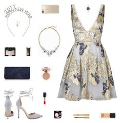 """""""Two Thousand Seventeen"""" by belenloperfido ❤ liked on Polyvore featuring Notte by Marchesa, Nina, Speck, Old Navy, MAC Cosmetics, NARS Cosmetics, Estée Lauder, Guerlain, Yves Saint Laurent and Tiffany & Co."""
