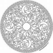 Image result for Celestial Mandala Coloring Books Finished