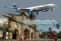 Cheap Flights to Manila will take you to a city which has a long history and a splendid future. Enjoy your holidays at this charming land and give a gift of happiness to you and your family.