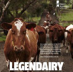 Australian dairy's Legendairy tale