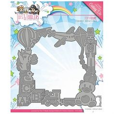 Yvonne Creations -stanssi: Toy Frame - lelukehys