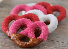 Chocolate covered pretzels for Valentine's Day. Great teacher or for your visiting teaching sisters :)