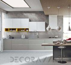 #kitchen #design #interior #furniture #furnishings  комплект в кухню Arredo3 Luna, AL03W