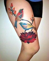 patchwork tattoos -